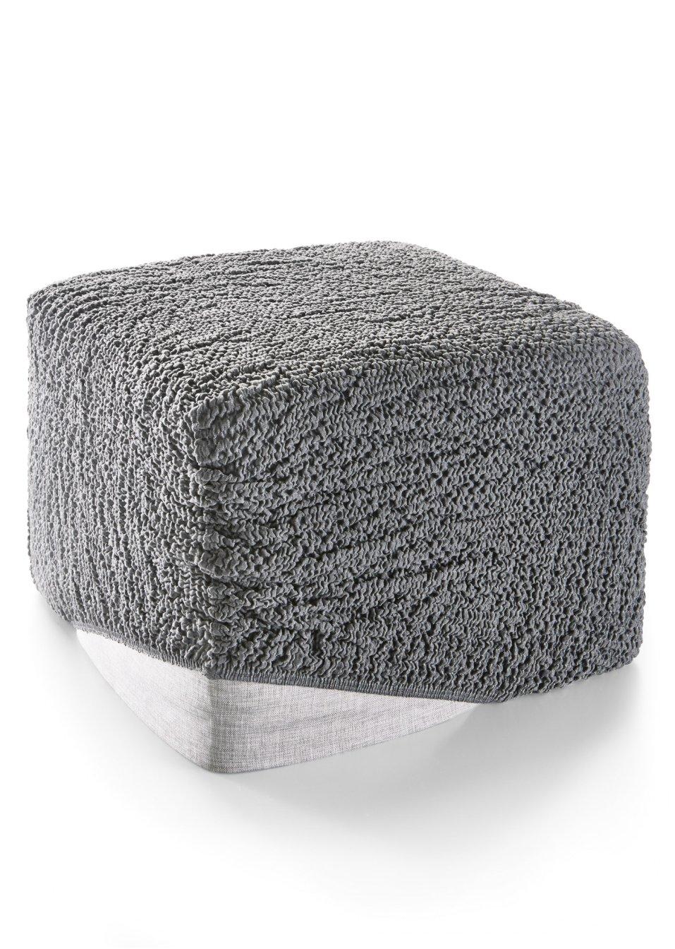 hocker husse crincle anthrazit bpc living. Black Bedroom Furniture Sets. Home Design Ideas