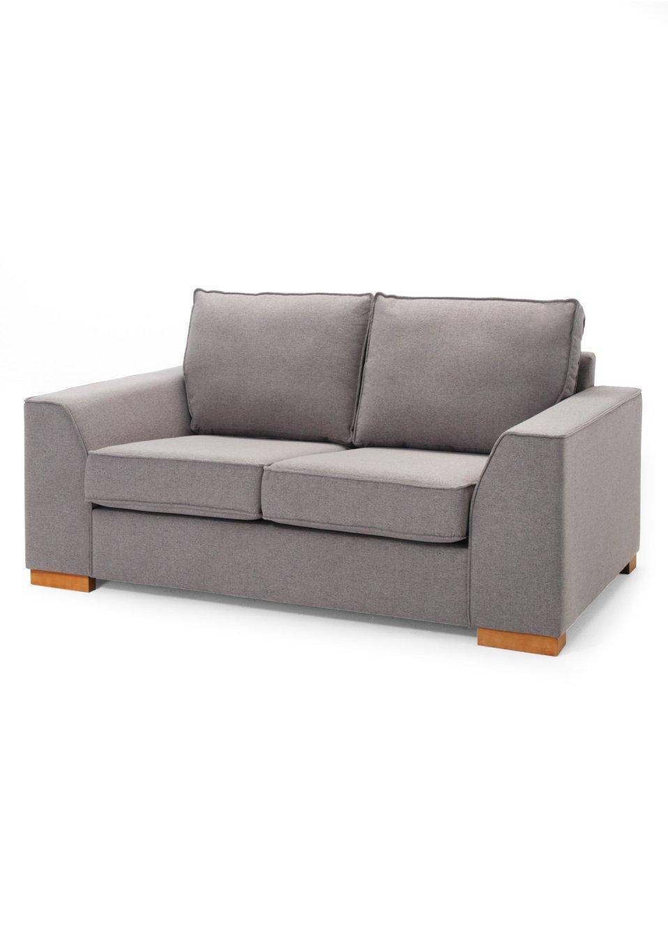 2 sitzer sofa butterfly grau bpc living online bestellen. Black Bedroom Furniture Sets. Home Design Ideas