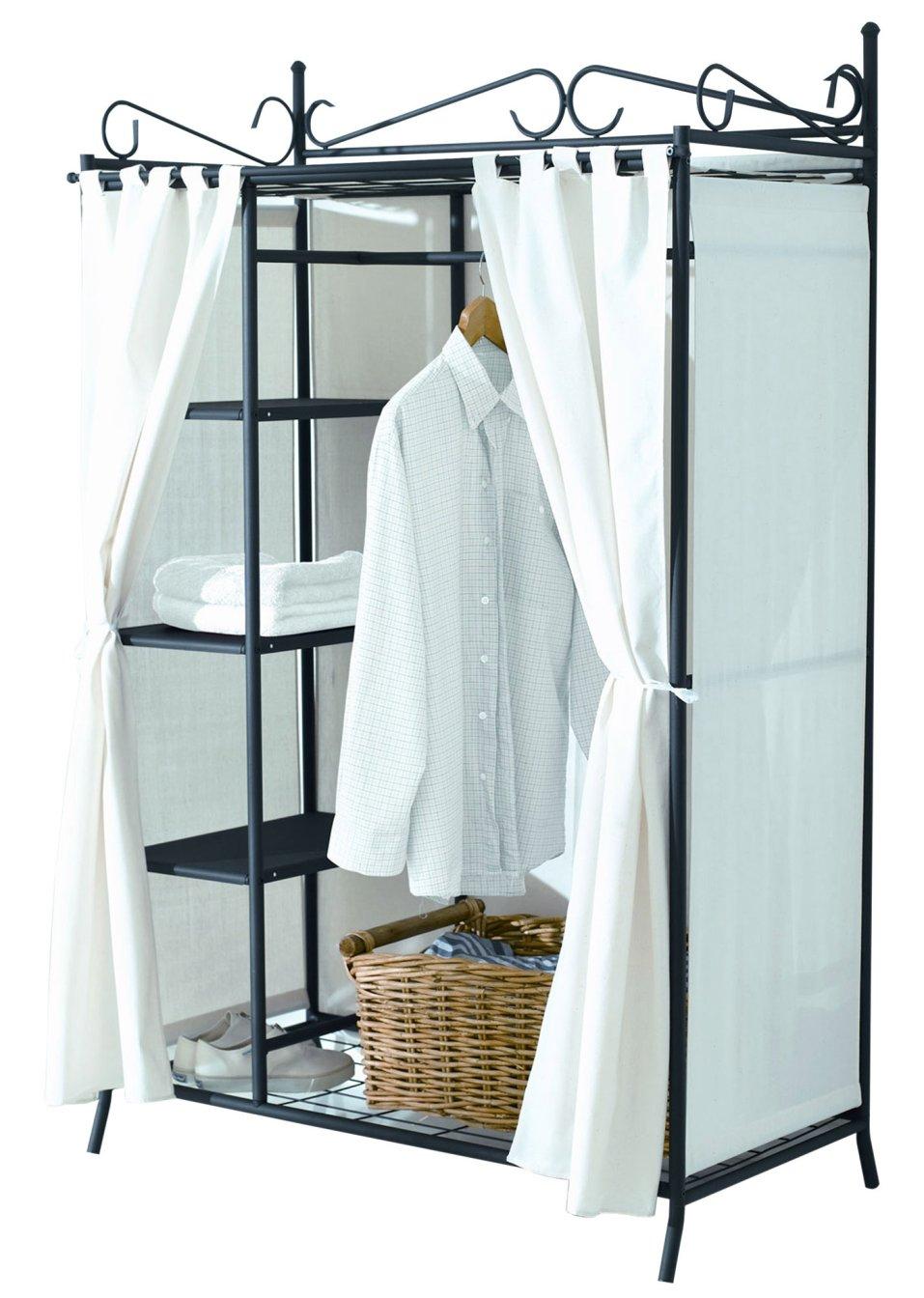 kleiderschrank air schwarz home collection online kaufen. Black Bedroom Furniture Sets. Home Design Ideas