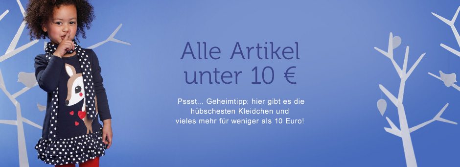 alle artikel unter 10 euro shoppen nach preis mode kinder. Black Bedroom Furniture Sets. Home Design Ideas