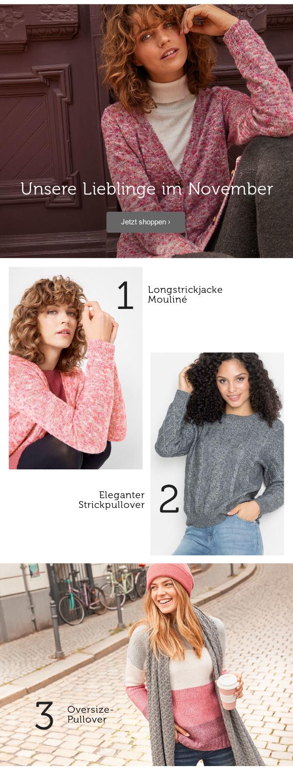 Pullover & Strickjacken >