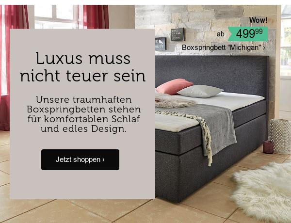 Betten & Boxspringbetten >